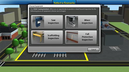 OSHA desarrolla herramienta virtual para capacitacion sobre peligros contenido 1