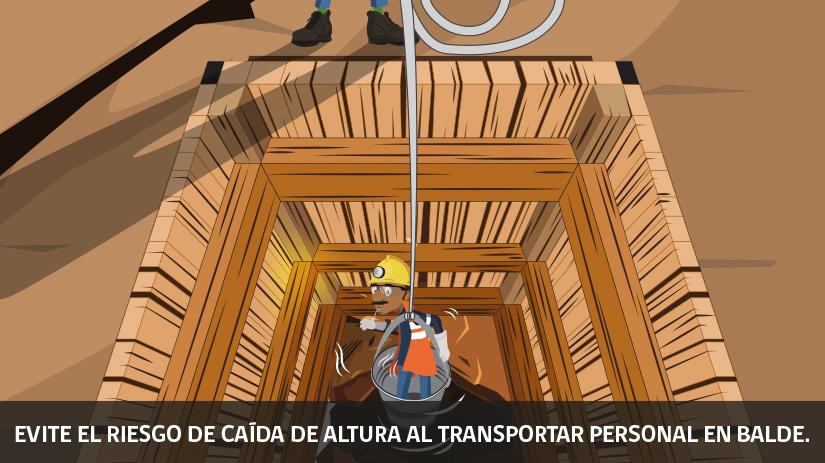 Décima regla regla de oro de seguridad minera en Chile