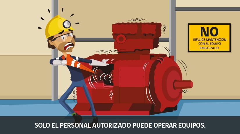 Decimosexta regla de oro de seguridad para operaciones mineras en Chile