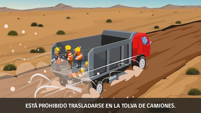 Decimonovena regla de oro de seguridad para operaciones mineras en Chile