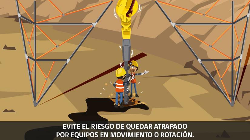 Reglas de oro de la seguridad minera en Chile - sexta regla
