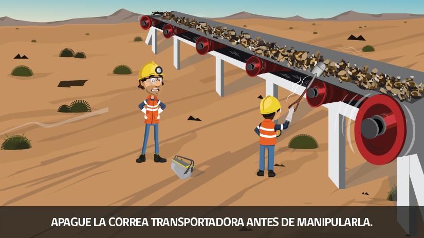Reglas de oro de la seguridad minera en Chile - octava regla