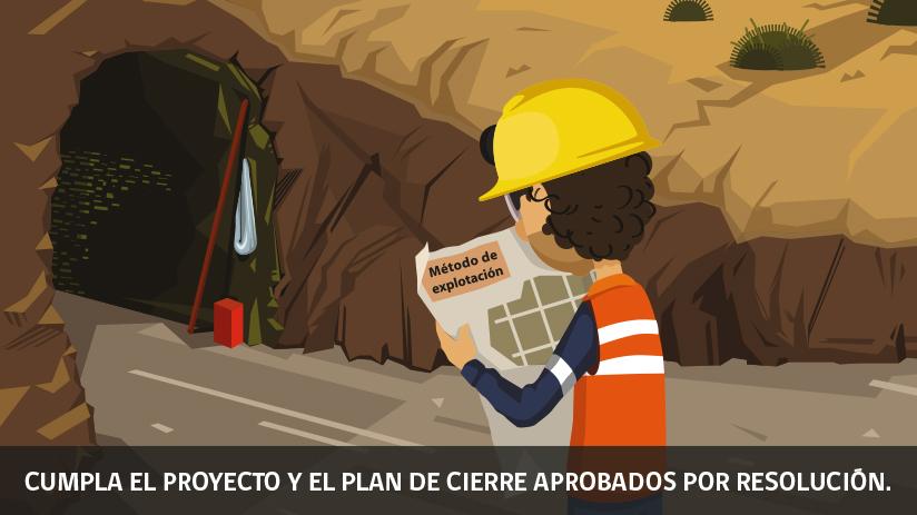 Reglas de oro de la seguridad minera en Chile - primera regla