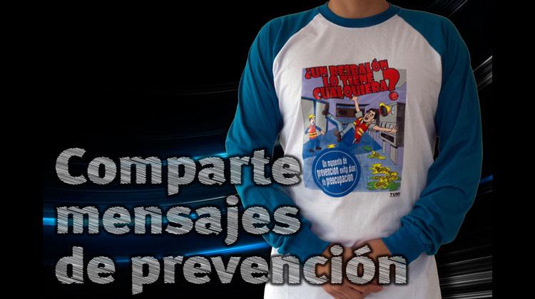 Camisetas sobre los peligrosos resbalones