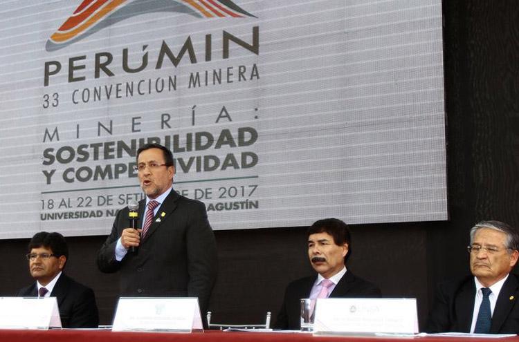 Miguel Cardozo, segundo vicepresidente del Instituto de Ingenieros de Minas del Perú