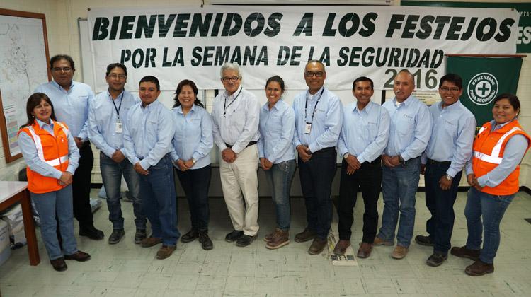 Semana de la Seguridad en Toquepala fue organizada por el Departamento de Seguridad e Higiene Minera