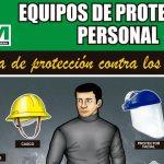 Afiche impulsa el uso de equipos de protección