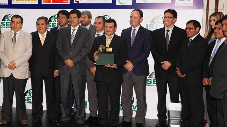 Minsur Acumulación Quenamari-San Rafael obtuvo el trofeo en la categoría Minería Subterránea.