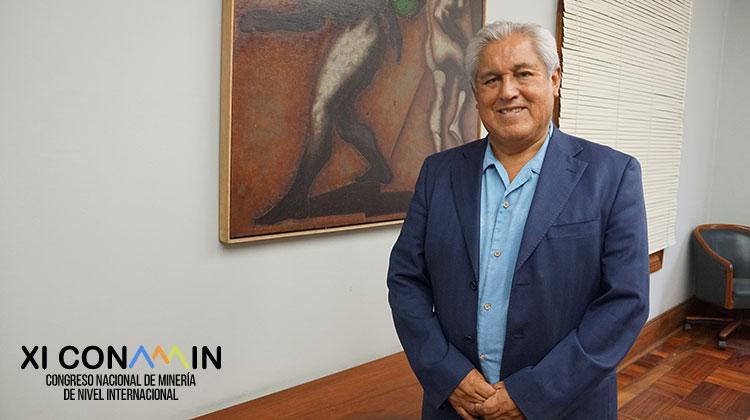 Miguel Ángel Zúñiga Castillo, presidente de la comisión organizadora del XI Congreso Nacional de Minería-CONAMIN