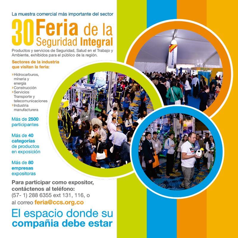 30 Feria de la Seguridad Integral del 49 Congreso de Seguridad, Salud y Ambiente