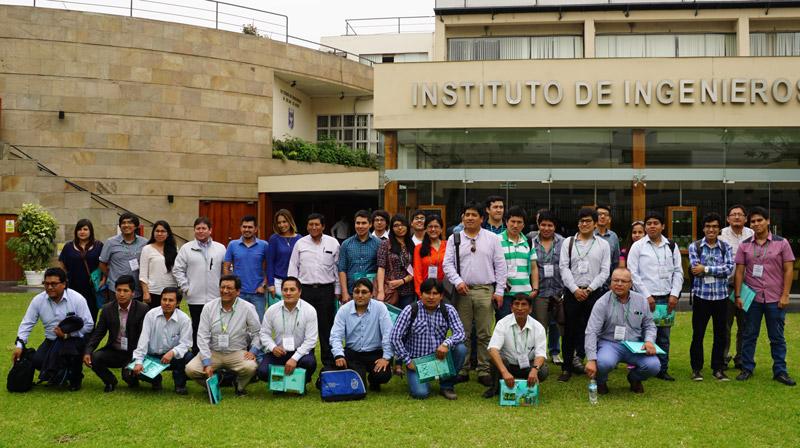 Participantes del tercer curso sobre nuevo reglamento de seguridad