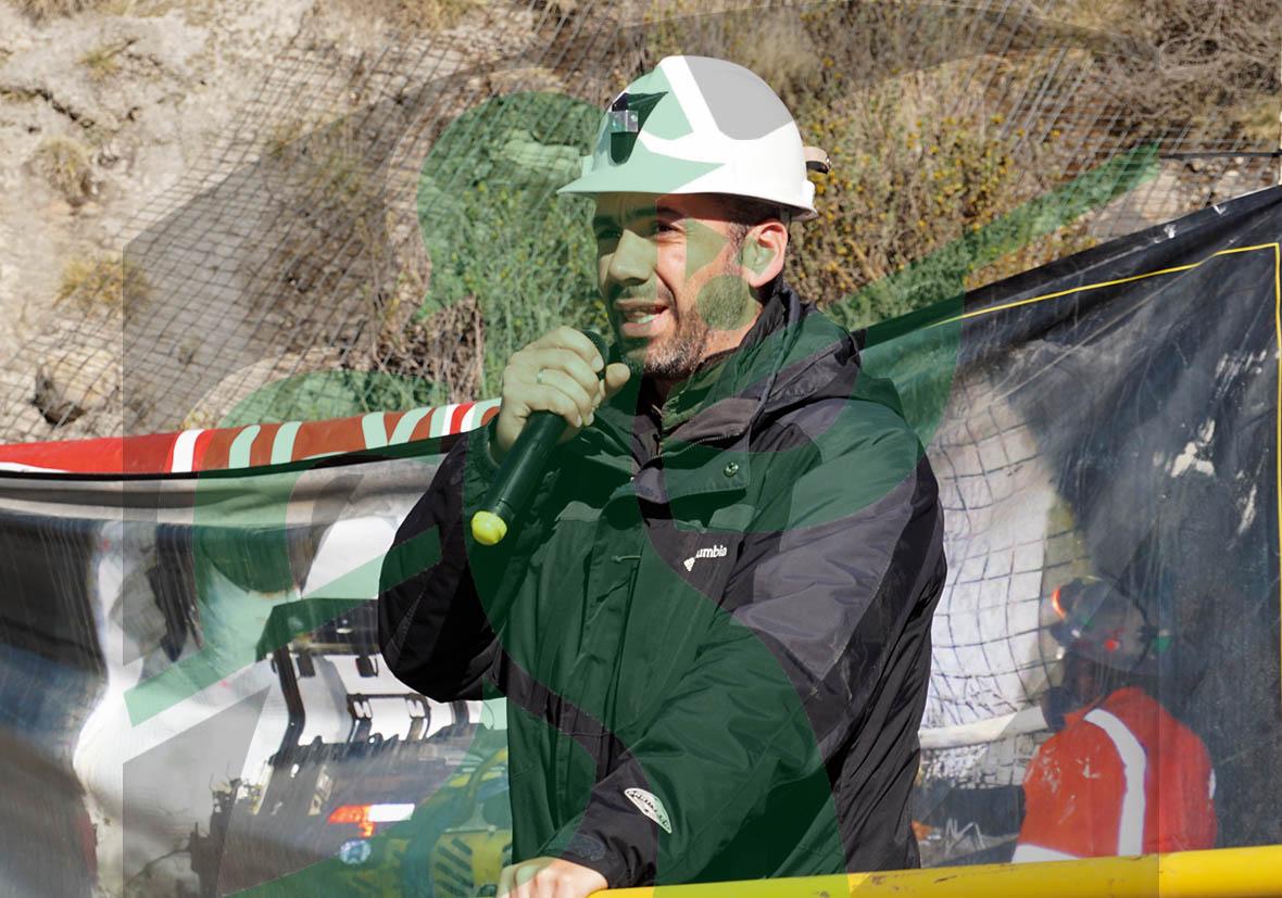 Renzo Muente, gerente de Desarrollo Humano de Volcan.