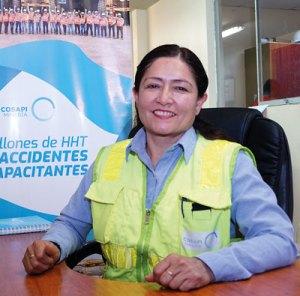 Narda Alvarado Casós, gerente de SSOMA