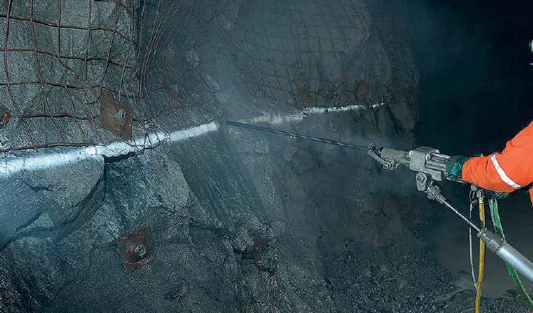 Control del polvo por perforación de rocas-1