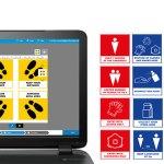 3M y HP diseñan plantillas de señalización gratuitas para ayudar a proteger a los trabajadores