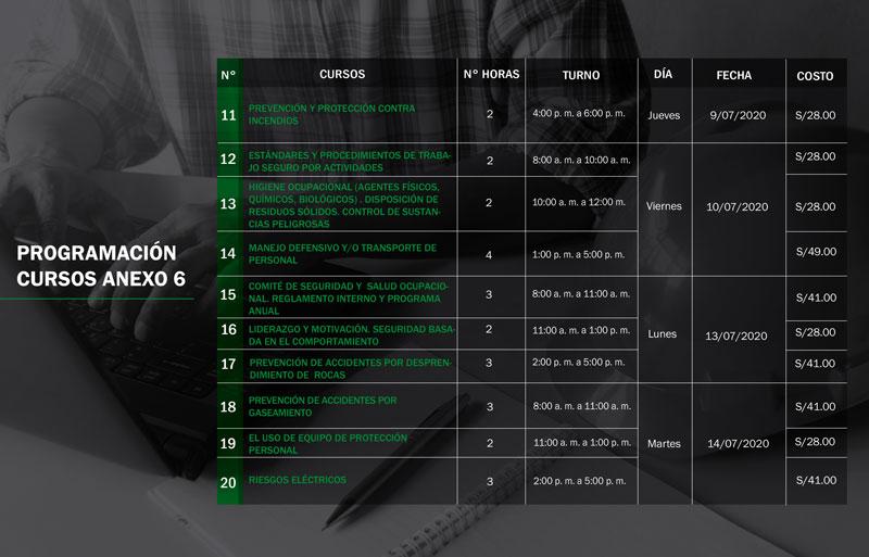 ISEM dicta 20 cursos del reglamento en modalidad online. Segundo grupo de cursos.