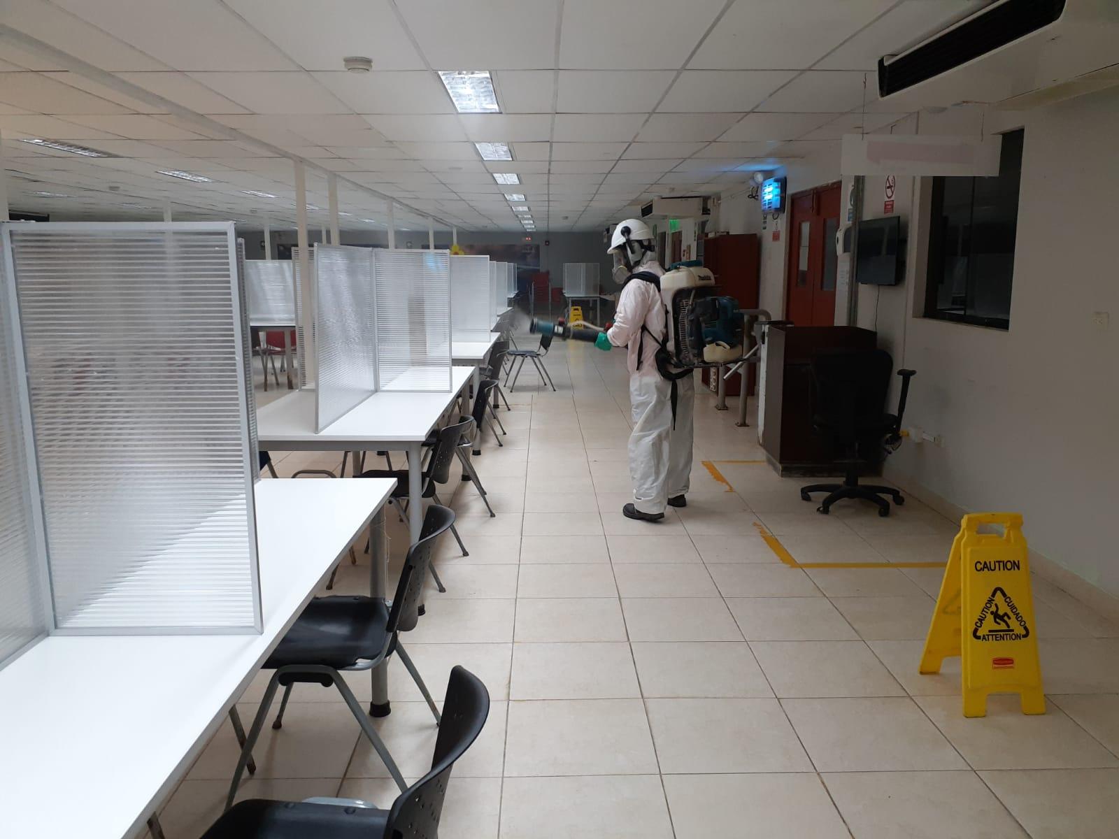 Miski Mayo ha implementado un programa de limpieza y desinfección semanal en la operación