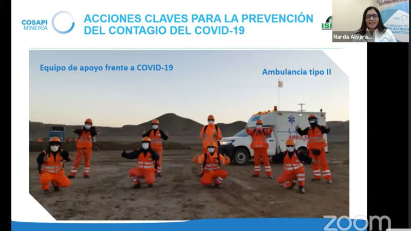 Cosapi Mineria realidad virtual e inteligencia artificial en estrategia de prevencion del COVID-19