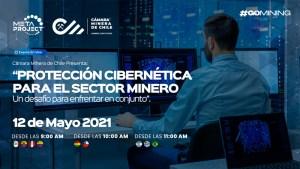 Cámara Minera de Chile invita a webinar sobre ciberseguridad