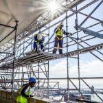 Sin colapso: pautas de seguridad durante el montaje y desmontaje de andamios