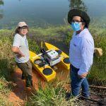 Startup peruana usa la robótica para realizar estudios en lagunas de Madre de Dios