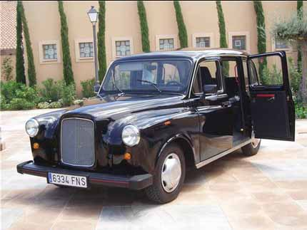 Taxi ingles bodas