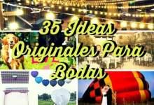 35 ideas originales para bodas