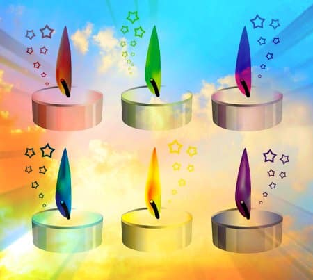 Colores de velas y su significado