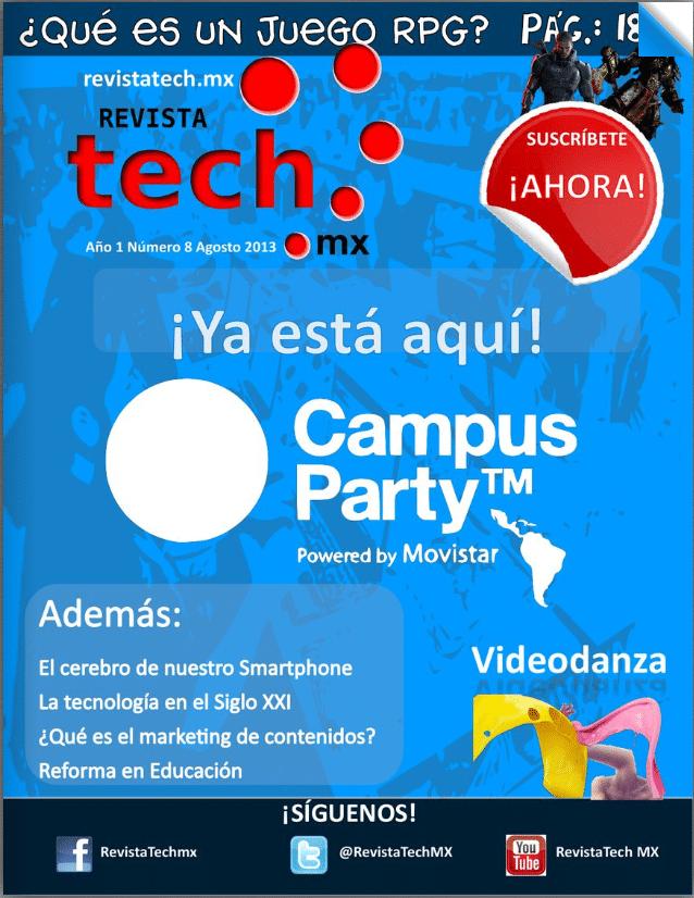 Revista Tech MX 2013 8