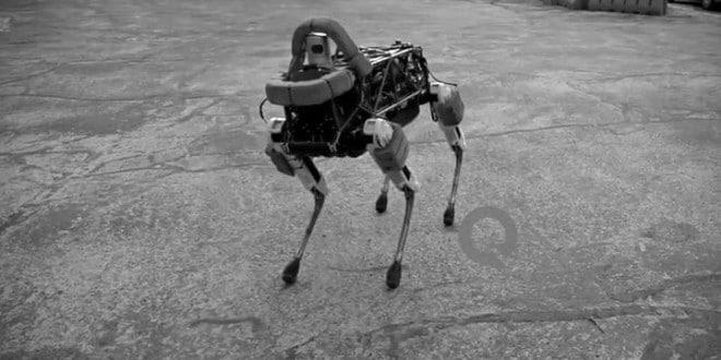 Spot, el ágil robot casi imposible de derribar