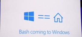 ¿Windows con bash?
