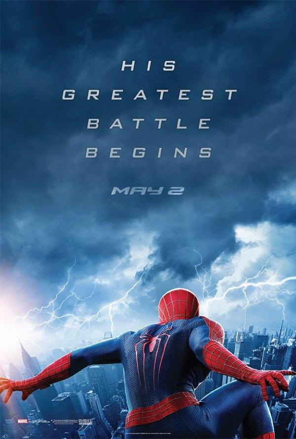 the amazing spiderman 2 rise of electro poster