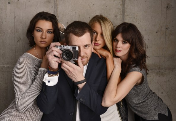 Zombeavers girls and director