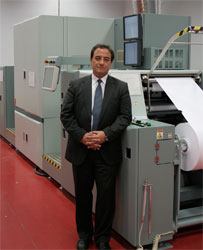 """Luis de Tomás Sanz, CEO de Impulso Global Solutions: """"Océ siempre ha sido un partner tecnológico de referencia en la impresión digital"""""""
