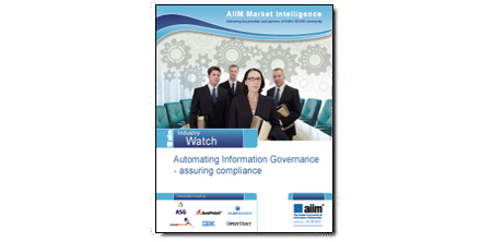 """Automating Information Governance - assuring compliance"