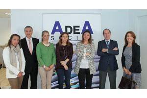 El Director General del Servicio Público de Empleo de la CAM, D.José María Díaz Zabala visita AdeA Social