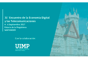 """""""La realidad digital de España"""", del 4 al 6 de septiembre en Santander"""
