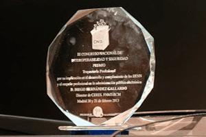 Los premios CNIS 2018 con la transformación digital.