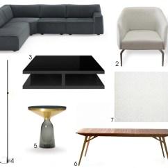 Casa Andrea Milano Sectional Sofa Dark Brown Living Room Get The Look Inspire Se Nos Projetos Da Casacor São Paulo