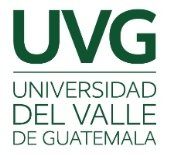 Universidad del valle de Guatemala
