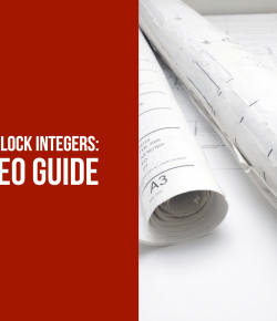 Titleblock Integers, Take 2 – Video Guide