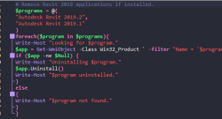 Build Your Own Unassisted PowerShell Uninstallers