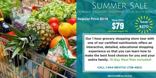 Learn how to grocery shop and plan your meals the right way. See our Events pages for more details.