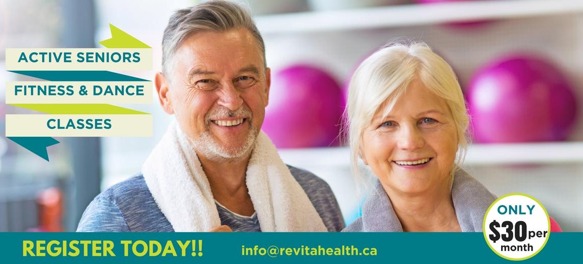 The ReVitahealth Active Seniors & Dance Classes