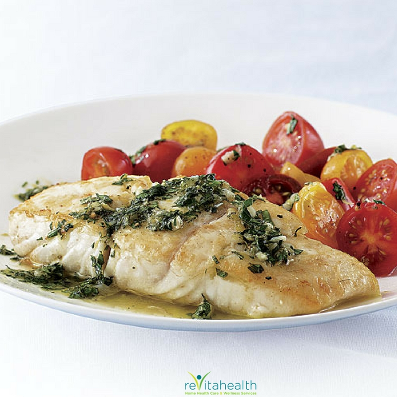 ReVitahealth's Summer Seared Halibut Recipe