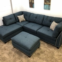 Simmons Reversible Chaise Sofa Winchester Sectional Bed With Ottoman Gradschoolfairs