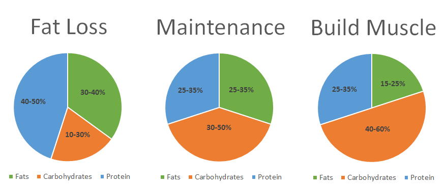 Macronutrients weight loss