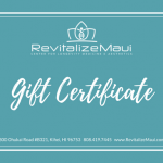 $25 RevitalizeMaui Gift Card