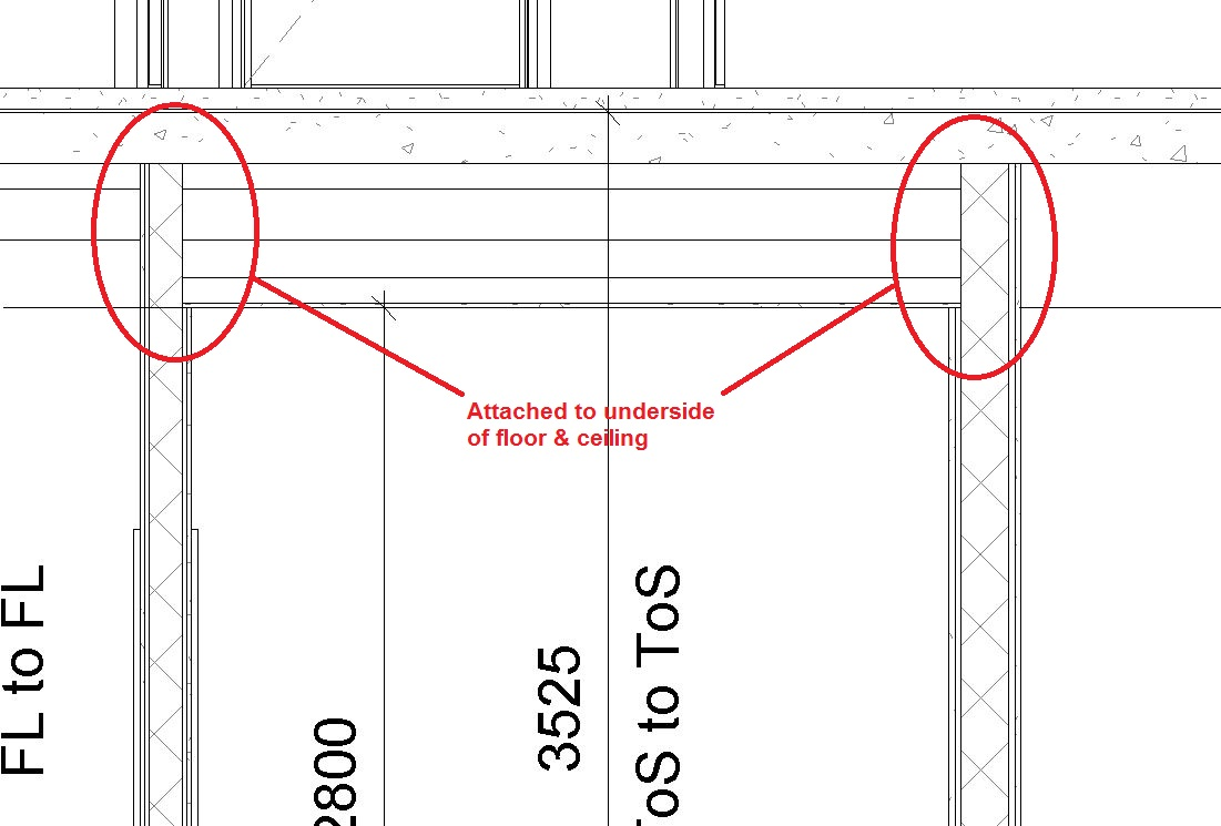 RevitCity.com   Revit 2015 join wall to underside of floor and ceiling issue