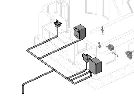RevitCitycom  Revit MEP Pipes not showing up in floor